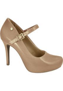 e3a60781ca Sapato Dourado Laco feminino
