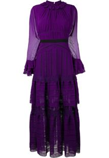 Three Floor Vestido 'Ultralicious' - Roxo