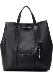 Marc Jacobs Bolsa Tote The Oversized Tag - Preto