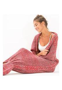 Cobertor Sereiando Vermelho