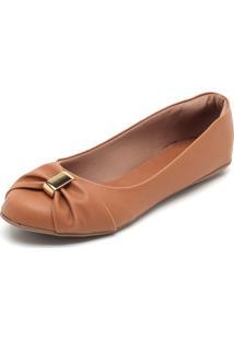 Sapatilha Dafiti Shoes Detalhe Caramelo