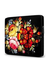 Capa Para Notebook Floral 15.6 À 17 Polegadas