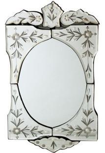 Espelho Decorativo Bisotado 48X27Cm - Estilo Veneziano