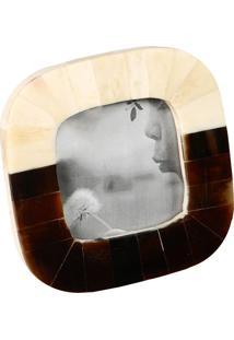 Porta-Retrato Decorativo De Chifre Quadrado Ismailia