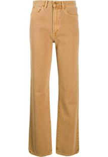 Slvrlake London High-Waisted Jeans - Marrom