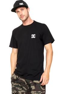 Camiseta Dc Shoes Basic Star Preta