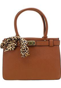 Bolsa Feminina Arara Dourada - T278 Camel
