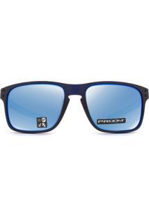 Óculos De Sol Oakley Oo9384 03-57 Óculos De Sol Oakley Holbrook Mix Oo9384 03-57 - Masculino-Azul