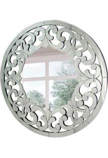 Espelho Decorativo Pieta 90X90 Cm Prata