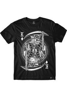 Camiseta Refuse The King - Preta