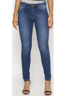 Jeans Skinny Estonada- Azul- Miss Bellamiss Bella