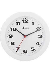 b6162292c16 ... Relógio De Parede Analógico Moderno Mecanismo Step Tic Tac Herweg Branco