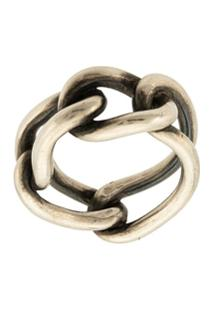 Werkstatt:München Chain Link Ring - Prateado