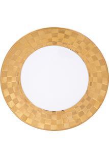 Conjunto 6 Pratos De Porcelana Wolff 19X2Cm – Vera Gold
