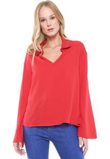 Camisa Triton Lisa Vermelha