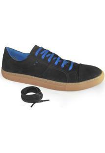 Sapatênis Probs7 Grind Smith - Masculino-Preto+Azul