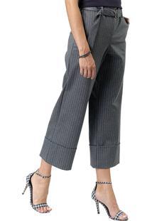 Calça Mx Fashion Pantacourt Listrada Julian Chumbo - Tricae