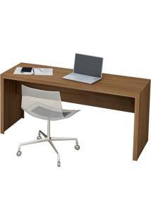 Mesa Para Escritório Tecno Mobili - Amêndoa