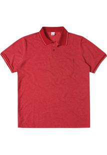 Camisa Polo Tradicional Piquê Rajado Wee!