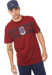 Camiseta Dc Shoes Derby Bordô