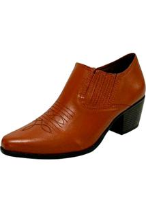 Sapato Fechado Rubi Marrom - Kanui