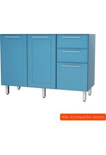 Balcão De Cozinha Play 3 Pt 2 Gv Azul