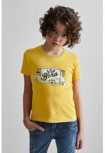 Camiseta Masculina Infantil Mini Sm Van Bora Reserva Mini - Masculino