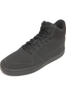 Tênis Nike Sportswear Court Borough Mid Preto