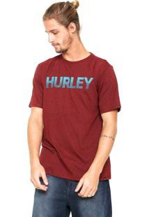 Camiseta Hurley Paradiso Vinho