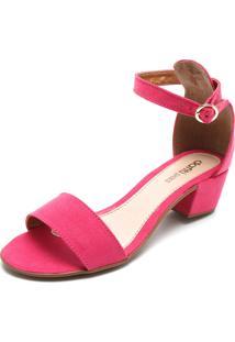 Sandália Dafiti Shoes Tiras Rosa