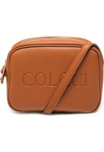 6aa2312f1 ... Bolsa Tiracolo Colcci Pequena Caramelo