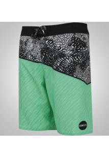 Bermuda O'Neill Oblique - Masculina - Verde/Preto