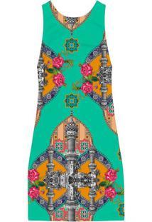 Vestido Estampado Recorte Costas Mesquita - Lez A Lez