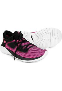 Tênis Nike Flex 2019 Run Feminino - Feminino-Preto+Pink