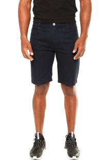 Bermuda Jeans Mcd Walk Denim Slim Azul