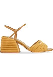Fendi Sandália Promenade Com Fechamento Posterior - Amarelo