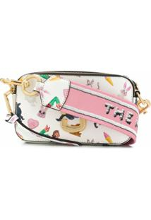 Marc Jacobs Bolsa The Snapshot Sugar - Branco
