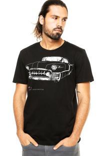 Camiseta Sommer Car Preta