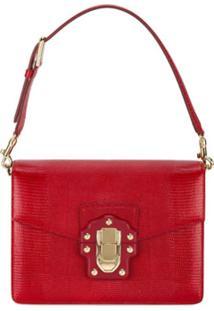 Dolce & Gabbana Bolsa Tiracolo Lucia - Vermelho
