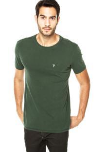 Camiseta Vr Estampa Verde