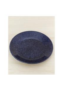 Amaro Feminino Jogo 6 Peças Prato Fundo Blueberry, Azul Escuro