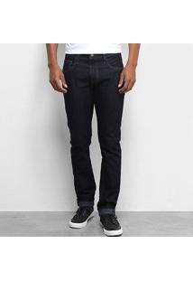 Calça Jeans Fórum Paul Slim Masculina - Masculino-Azul