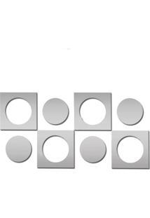 Espelho Decorativo Para Sala Em Acrílico 132 Cm X 66 Cm