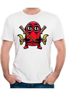 Camiseta Minionpool Geek10 - Branco