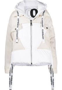Khrisjoy Panelled Puffer Jacket - Neutro