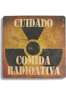 Descanso De Panela Comida Radioativa Geek10 - Multicolorido