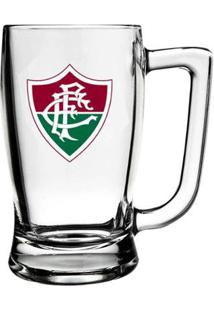 Caneca De Vidro Do Fluminense 340 Ml - Unissex