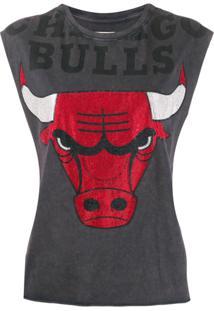 Zadig&Voltaire Blusa 'Weny Chicago Bulls' - Preto