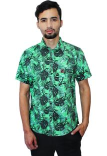 Camisa Camaleão Urbano Costela De Adão Verde