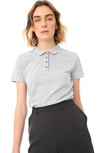 Camisa Polo Calvin Klein Jeans Lisa Cinza